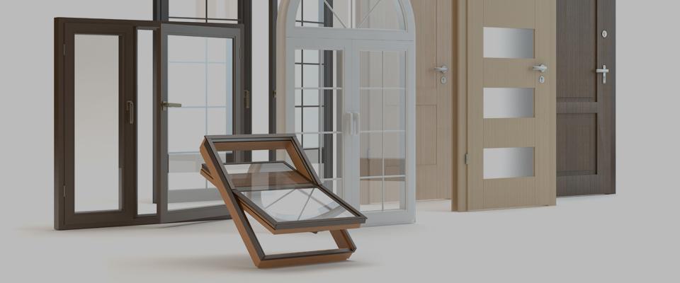 wizualizacja okien idrzwi